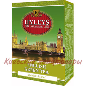 Чай листовойHyleys зеленый English Green Tea100 г