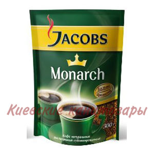 Кофе растворимыйJacobs Monarch280 г в пакете