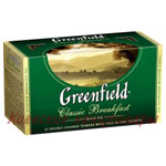 Чай черныйGreenfield Classic Breakfast25 пакетов х 2 г