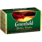 Чай черныйGreenfield Golden Ceylon25 пакетов х 2 г